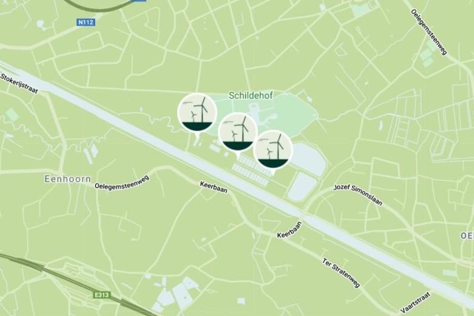 Minister Demir heeft het conflict tussen buurgemeenten Ranst en Schilde voorlopig beslecht: de drie windturbines op de site van Water-Link langs het Albertkanaal en naast park Schildehof mogen er komen.