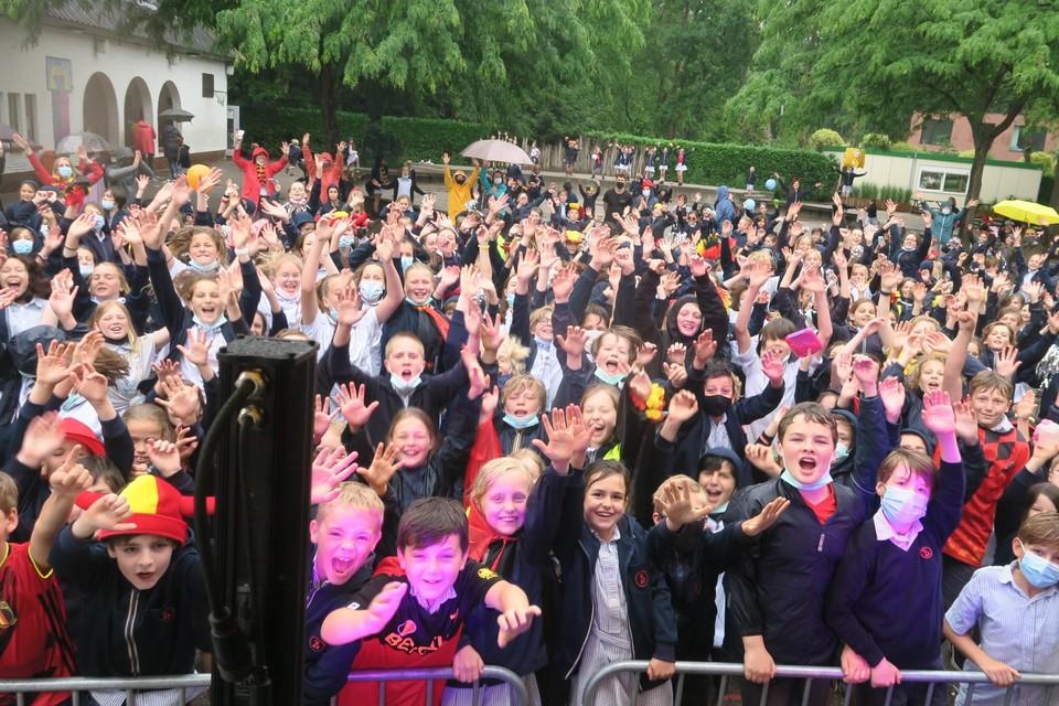 De leerlingen Sint-Ludgardis kregen een heus dancefestival als uitsmijter van het shcooljaar.