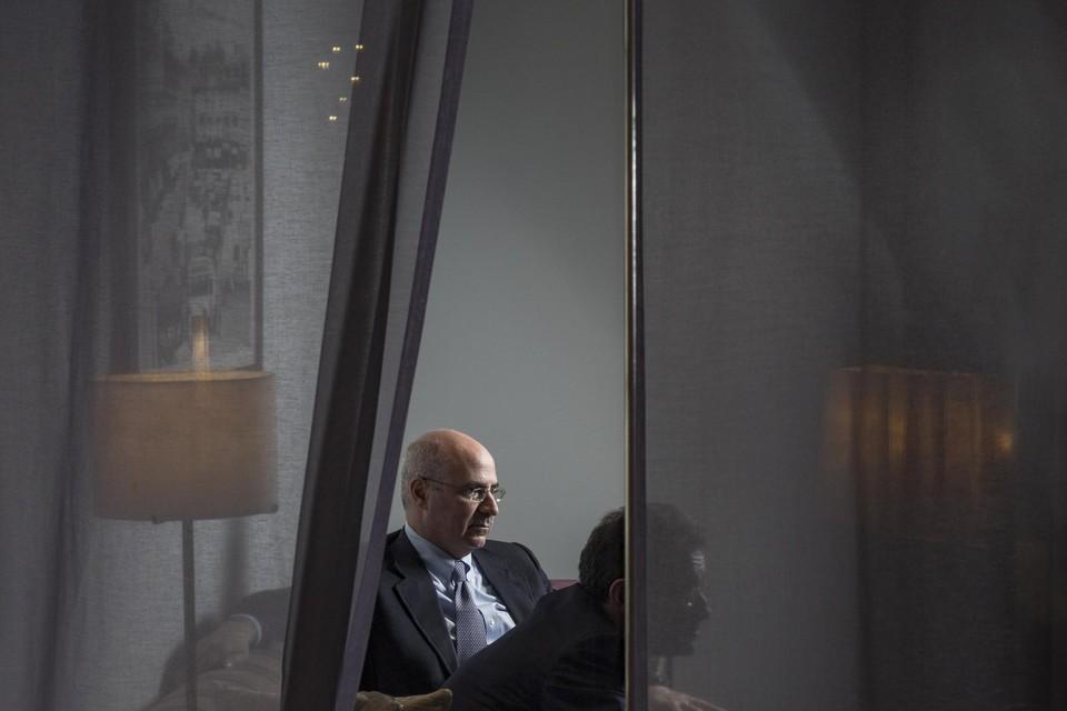 Bill Browder (tijdens een gesprek met  in 2018) zoekt al jaren naar de verantwoordelijken voor de dood van Sergej Magnitski.