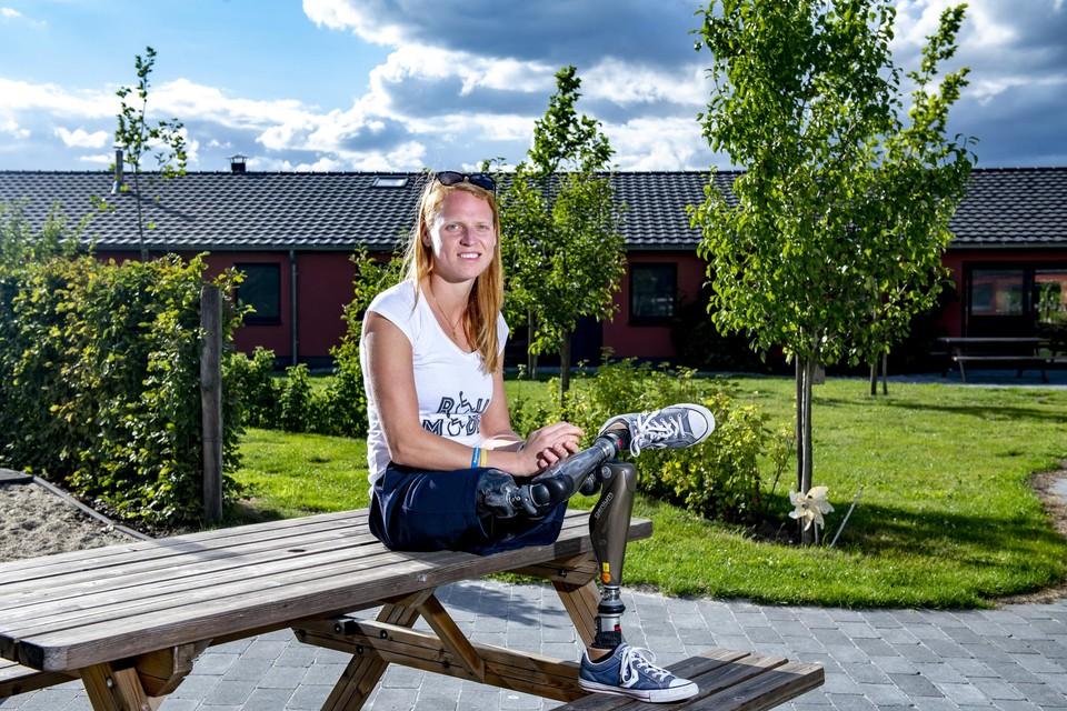 Hannelore Vens verloor beide benen bij een val van een perron.