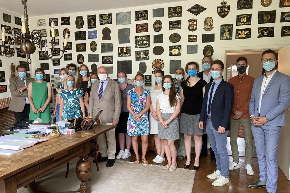 Het team van Schuermans advocaten viert in 2021 de negentigste verjaardag van het kantoor.
