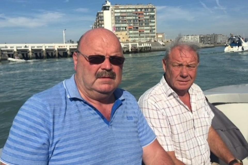 Michel Van den Brande met zijn goede vriend Fons, die overleed na hartfalen.