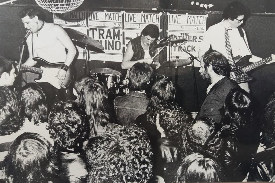 The Kids spelen in The Match op de Stadswaag in maart 1978. Gazet van Antwerpen signaleerde toen hun doorbraak.