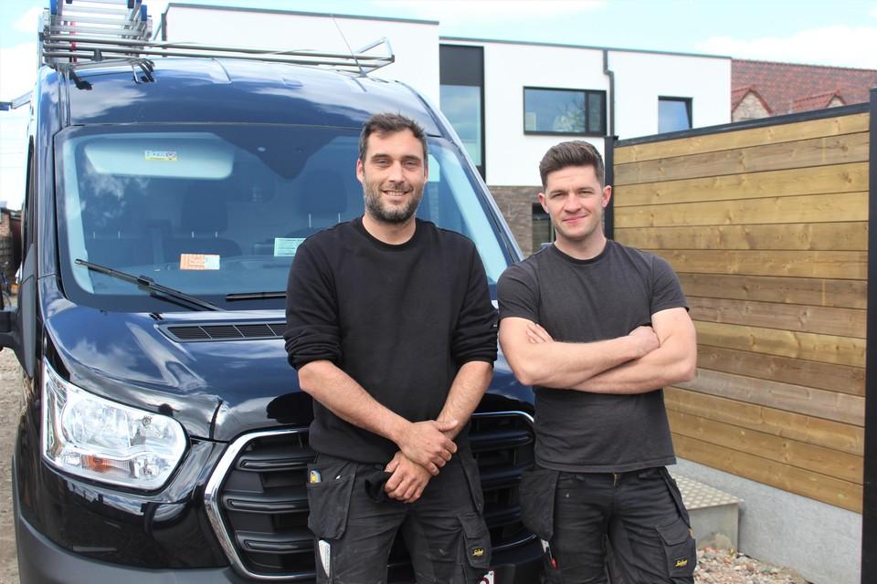 Roy Pigg en Jonas Van Loo startten samen Mechelair, een bedrijf gespecialiseerd in koeltechnieken.