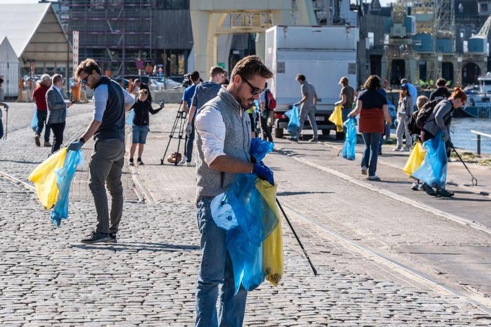 World Cleanup Day komt dit jaar naar Edegem en Borsbeek.