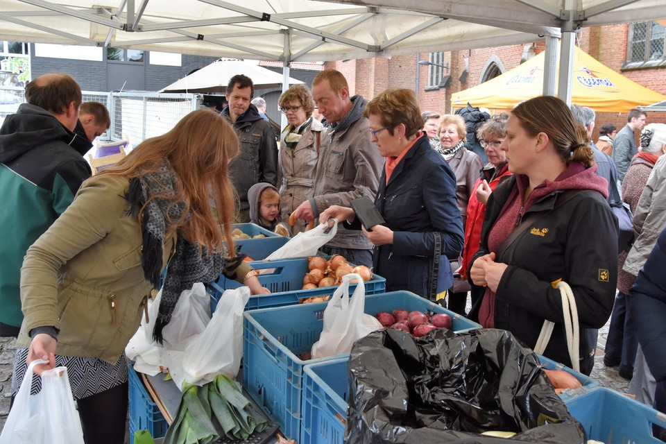 In Tielrode is er al een landbouwmarkt.