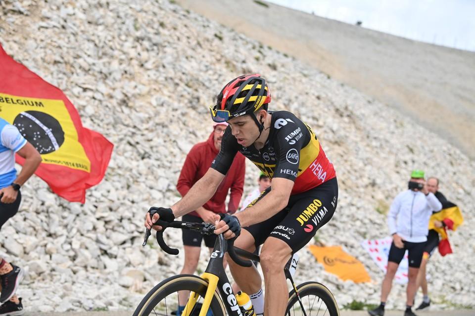 Een ritoverwinning in de Tour blijft wel speciaal, zeker deze rit over de mythische Mont Ventoux.