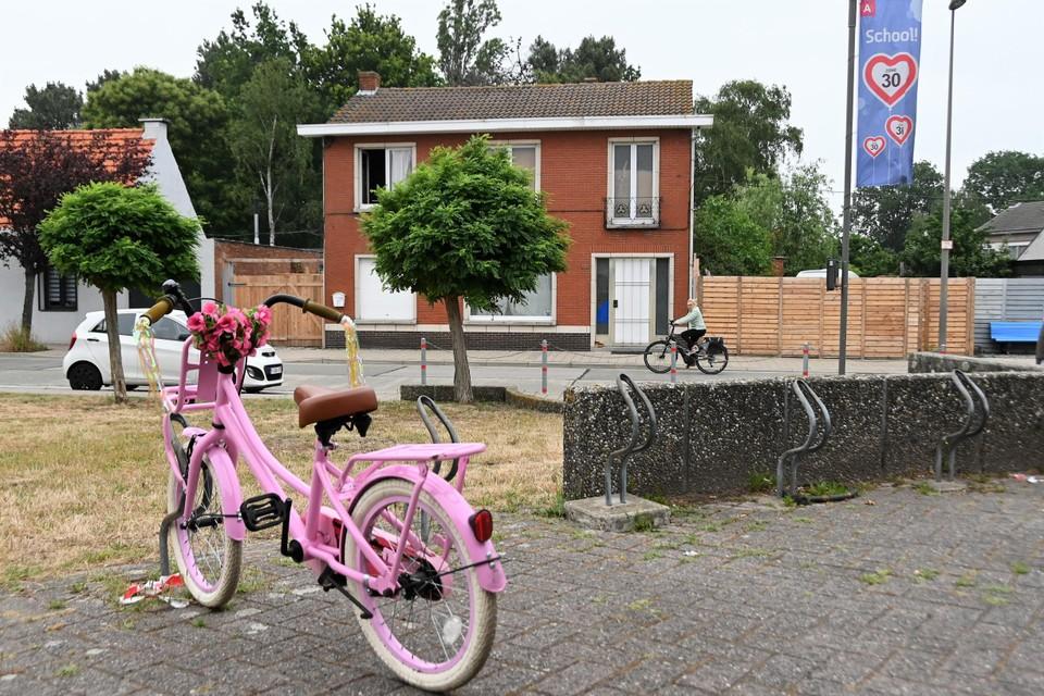De plaats waar het incident zich afspeelde, bij De Brem in Zandvliet.