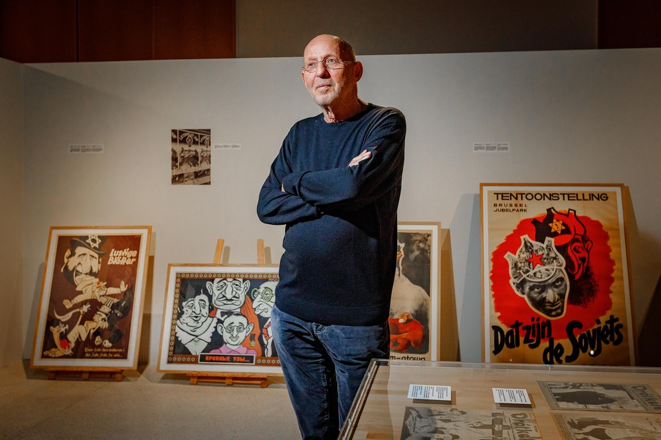 De in Borgerhout geboren Jood Arthur Langerman hoopt dat zijn wansmakelijke karikaturen mensen bewuster maken van beeldvorming.