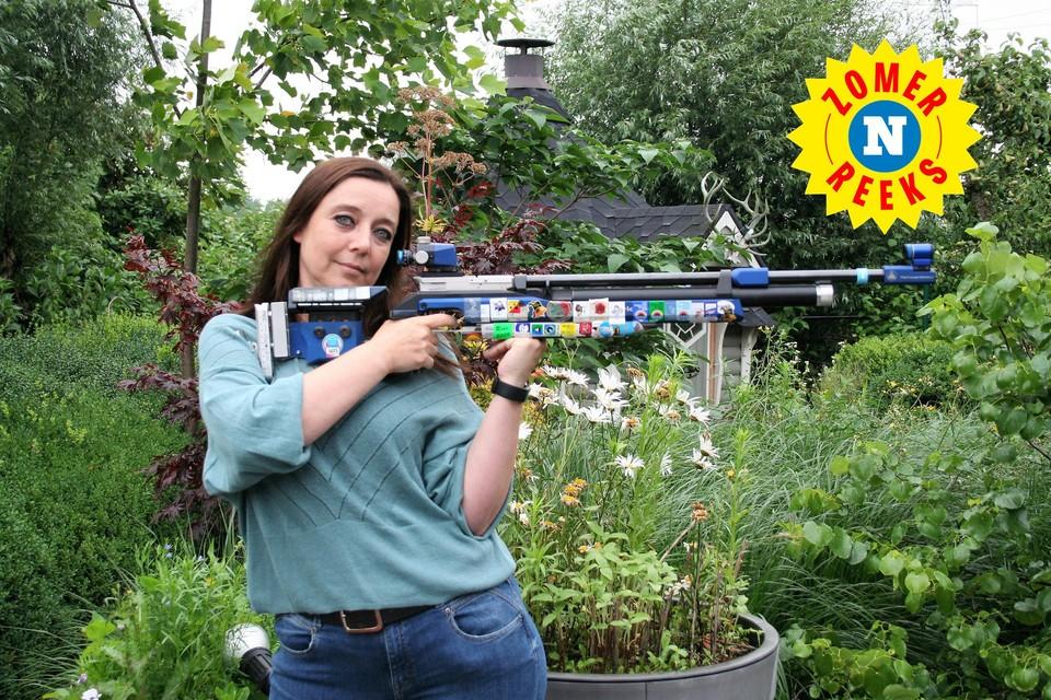 """Daisy De Bock blijft haar sport volgen maar zelf schieten zit er niet meer in: """"Mijn lichaam kan niet het niet meer aan."""""""