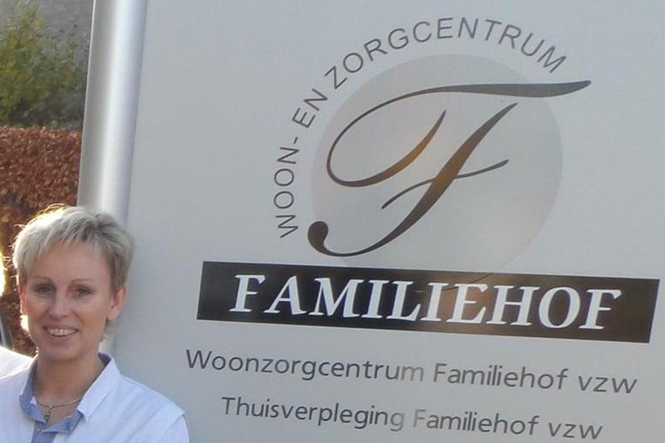 Olv directeur Inge Van Bouwel zet Familiehof een actie op.