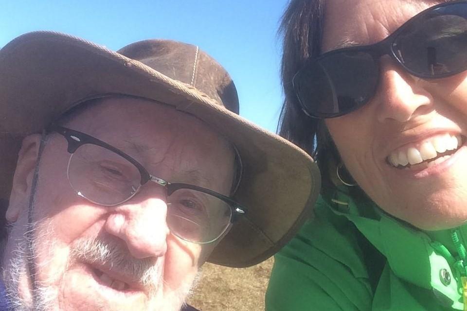 Vrijwilliger Lut Caron van vzw Kompaan begeleidde Egied tijdens een aangename vakantie aan de kust.