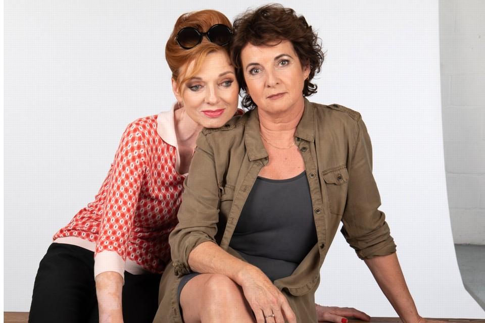 """Marleen Merckx en Anne-Mieke Ruyten: """"Elke familie heeft haar geheimen."""""""