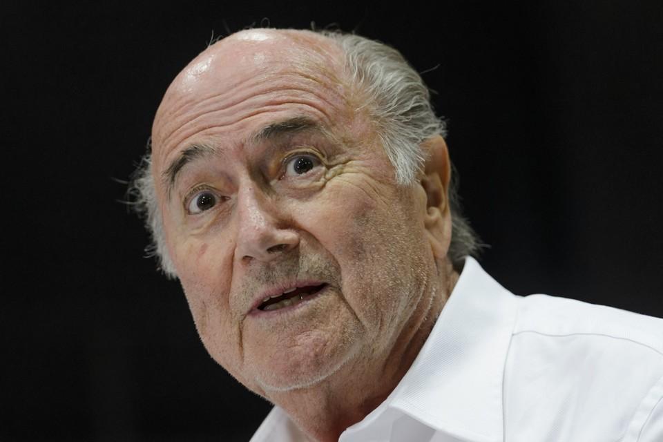 Blatter werd vandaag ontslagen uit het ziekenhuis.