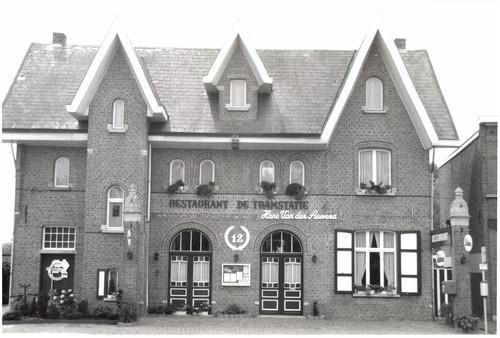 De oude tramstatie als restaurant.