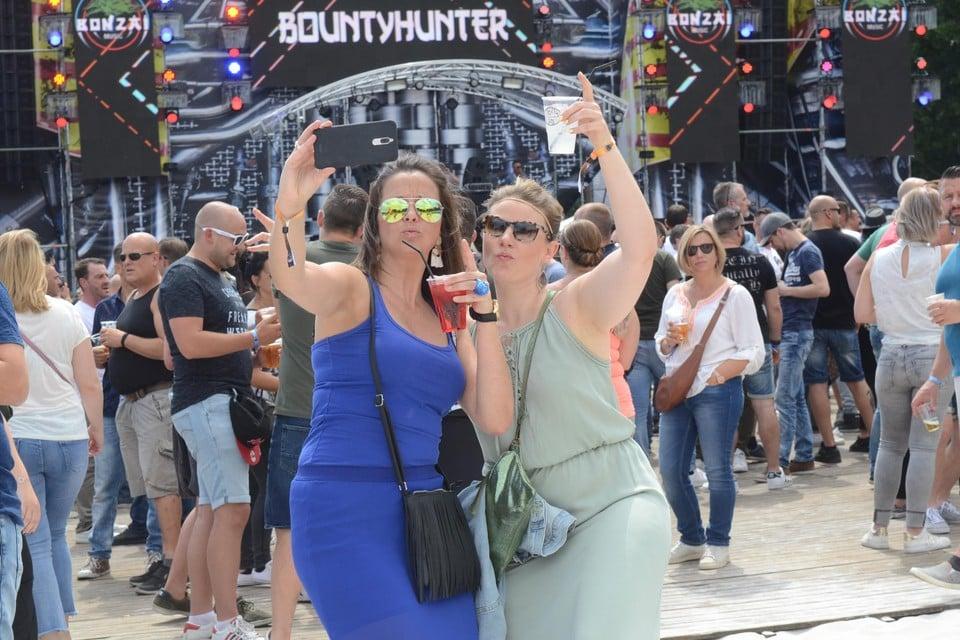 Aan ambiance geen gebrek tijdens een eerdere editie van Legacy Festival.