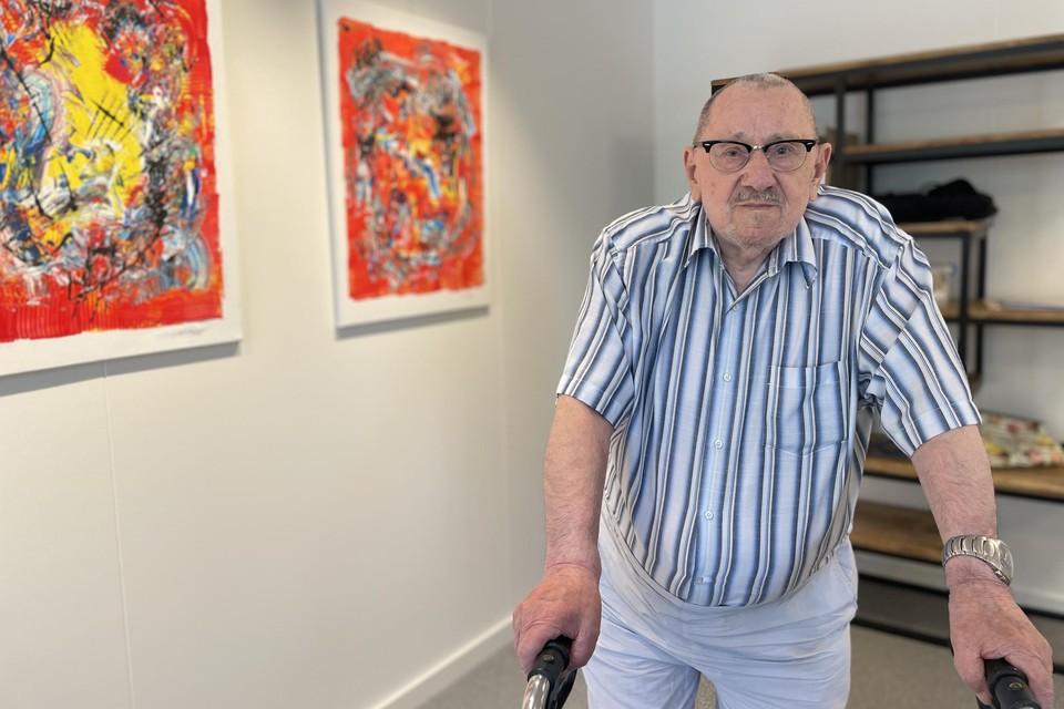 Kunstenaar Egied Steylaets dacht dat reizen er niet meer inzat, tot hij hoorde van het bestaan van vzw Kompaan.