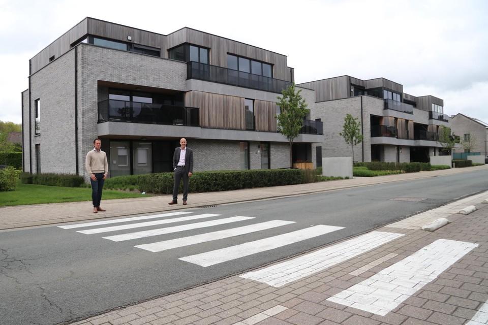 Het nieuwe zebrapad in de Hoogstraat maakt deel uit van een ruimere visie van het lokaal bestuur op verkeersveiligheid in Putte.
