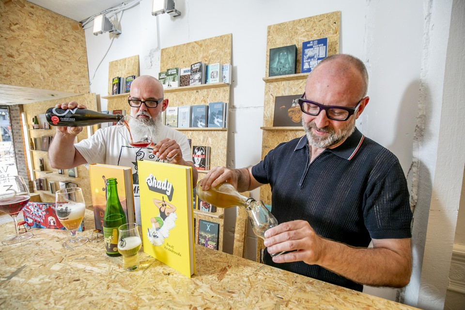 Hun liefde voor graphic novels en bier brachten Jan en Toon tot een nieuw concept.