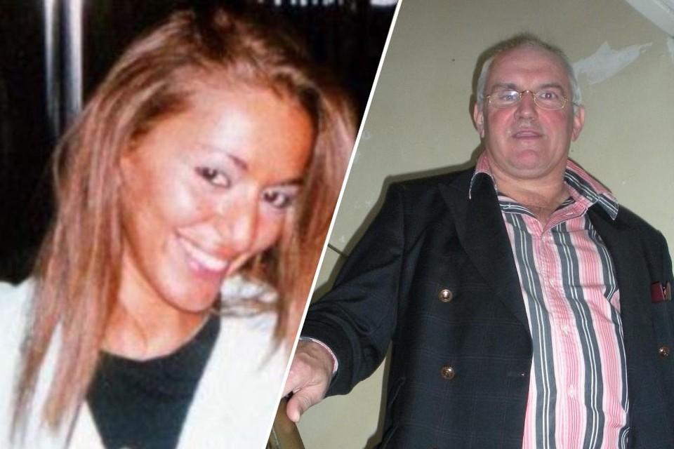 Slachtoffer Samira Bekkar en hoofdverdachte Wim Beckmann.