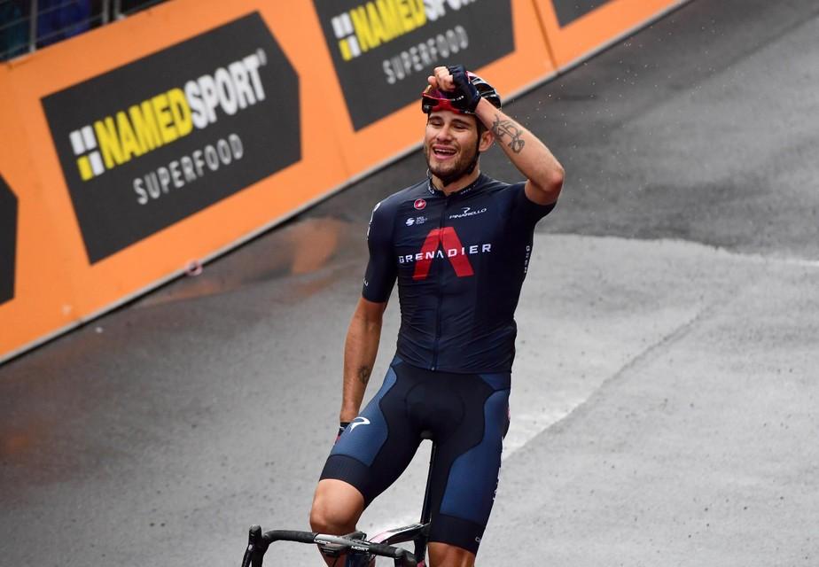 Ganna won vier ritten in de Ronde van Italië.