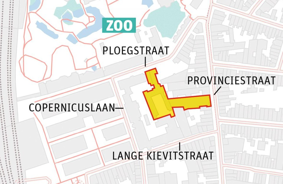 This area is owned by the city of Antwerp.