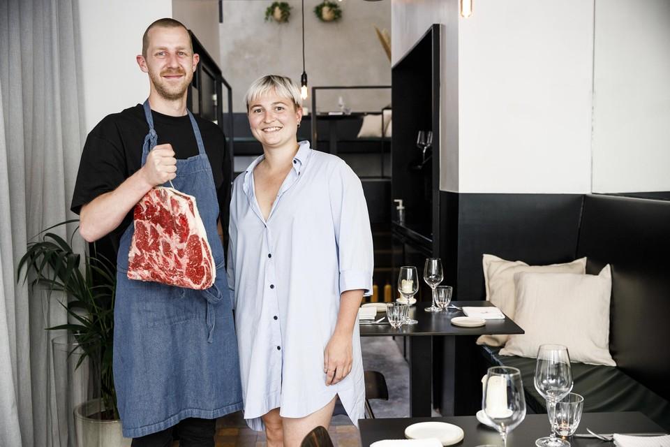 Koen en Niki van restaurant Nage zijn er helemaal klaar voor.