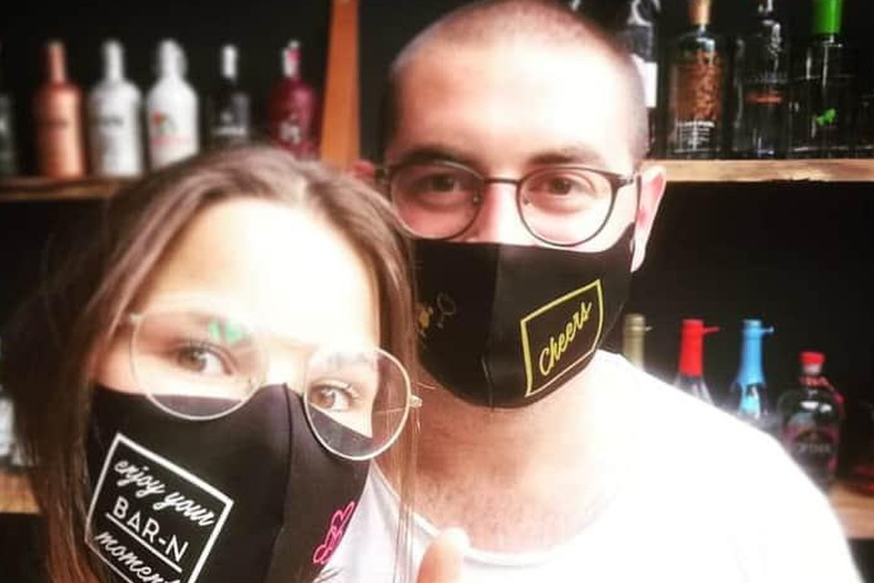 Mariska en Sam toen alles nog ok was.