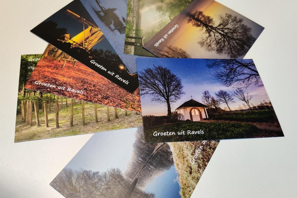 De huidige set postkaarten, onder meer van de kapel van Mosdijk, is toe aan vernieuwing.