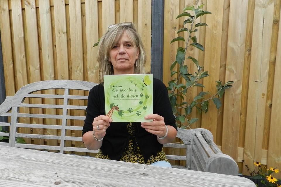 Els Verhoeven heeft een aantal verhalen voor kinderen gebundeld in een boek.