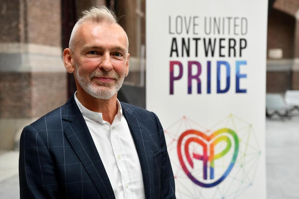 Bart Abeel, organisator van de Antwerp Pride.