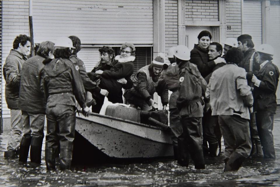 Tweeduizend mensen werden geëvacueerd.