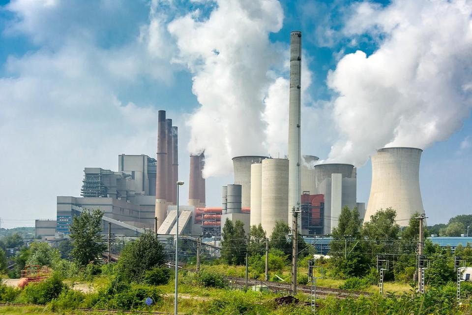 Het Ruhrgebied.