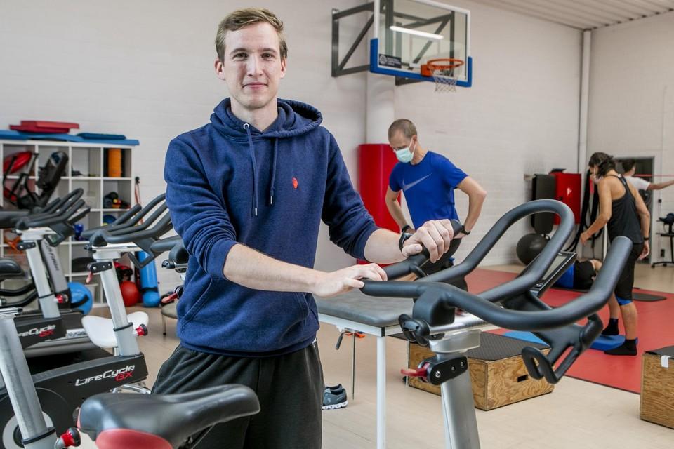 Lars Poppe, docent aan de Universiteit Antwerpen en sportkinesist in Sports Performance Center.