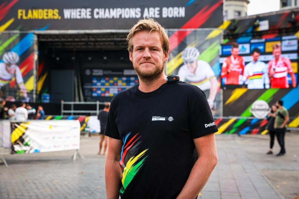 Philippe Devivier, eventmanager bij Flanders 2021.