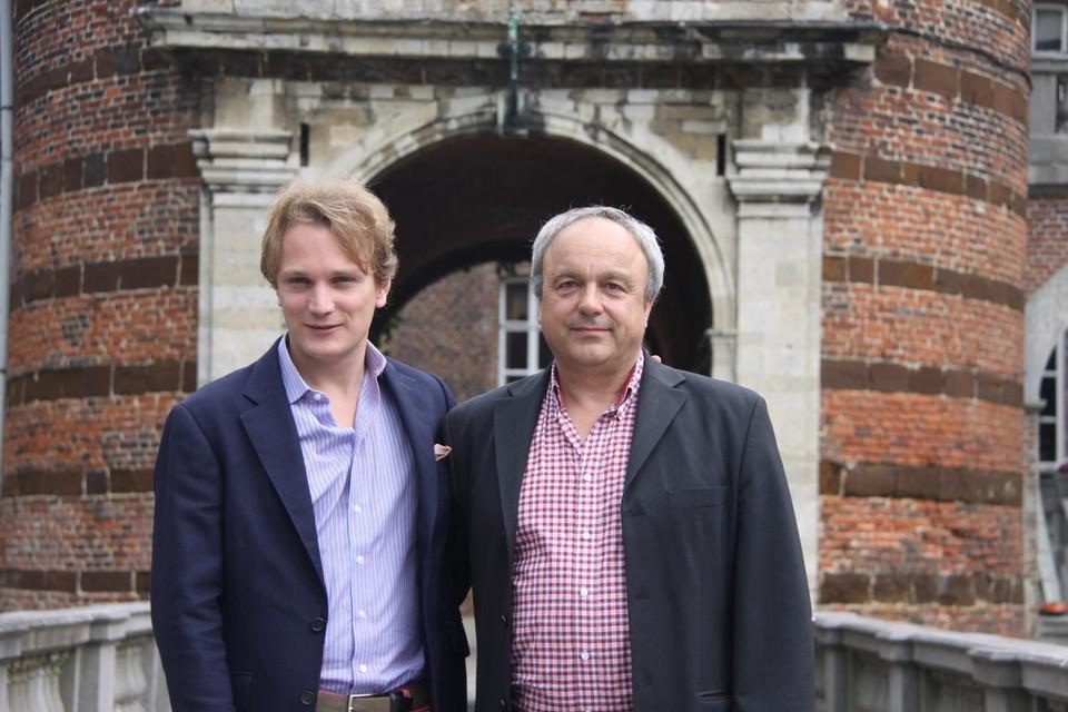 Prins de Merode en regisseur Luc Stevens zijn hoopvol voor augustus.