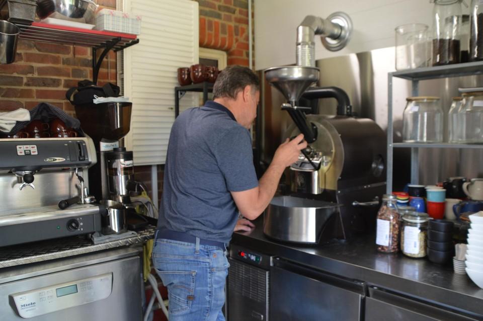 Zelf koffiebranden hoort er nu ook bij.
