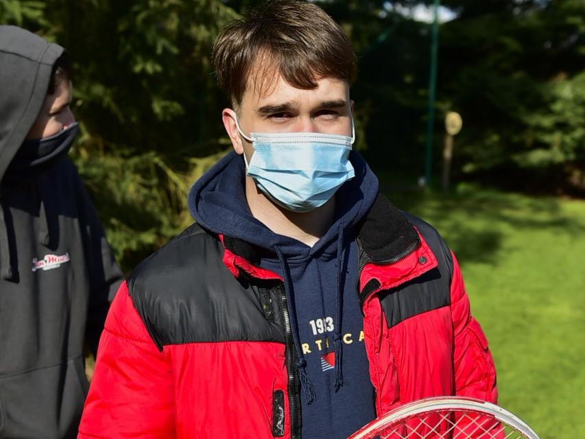 """Jonas Waegemans (20): """"Ik wil de draad weer opnemen."""""""