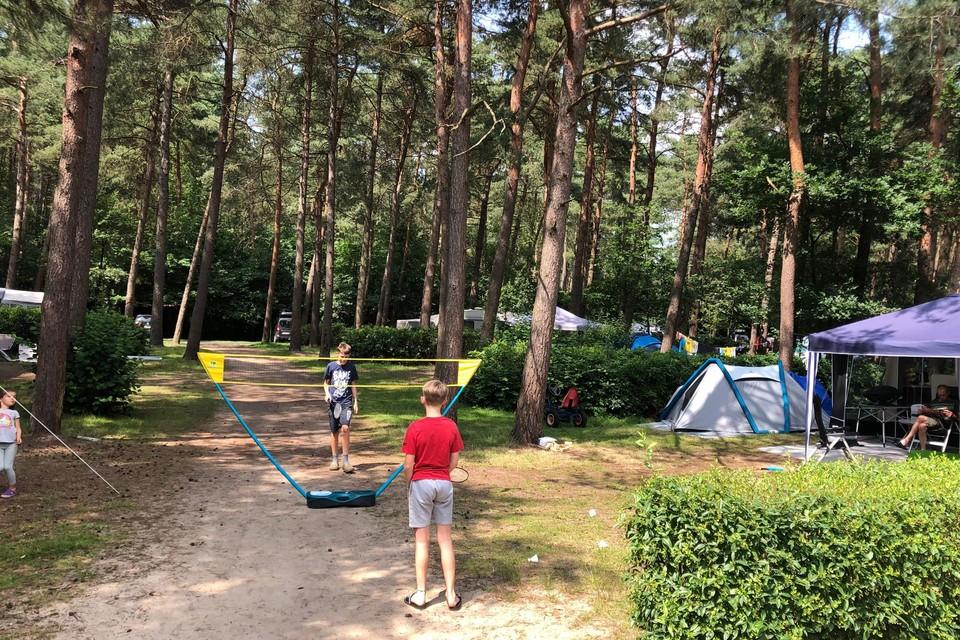 Op de camping van De Lilse Bergen in Gierle is er ook geen kampeerplaats meer vrij.