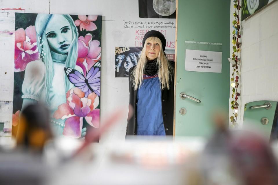 Kunstenares Hannelore Van Even huurt een atelier in Creative Factory.