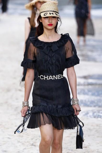 Voor Chanel in 2018