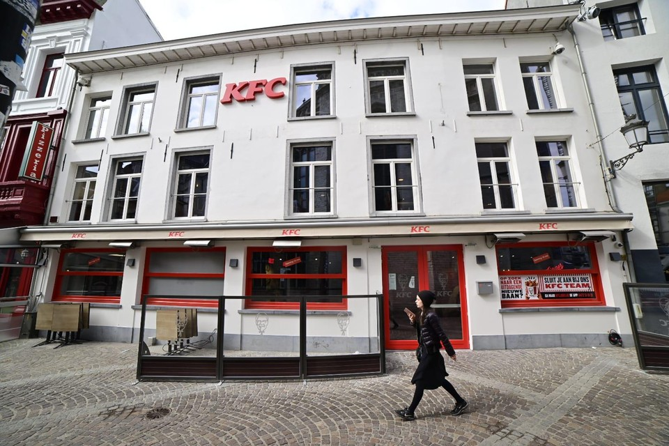 Dinsdag 18 mei opent het KFC-restaurant in de Jan Blomstraat, naast de kathedraal.