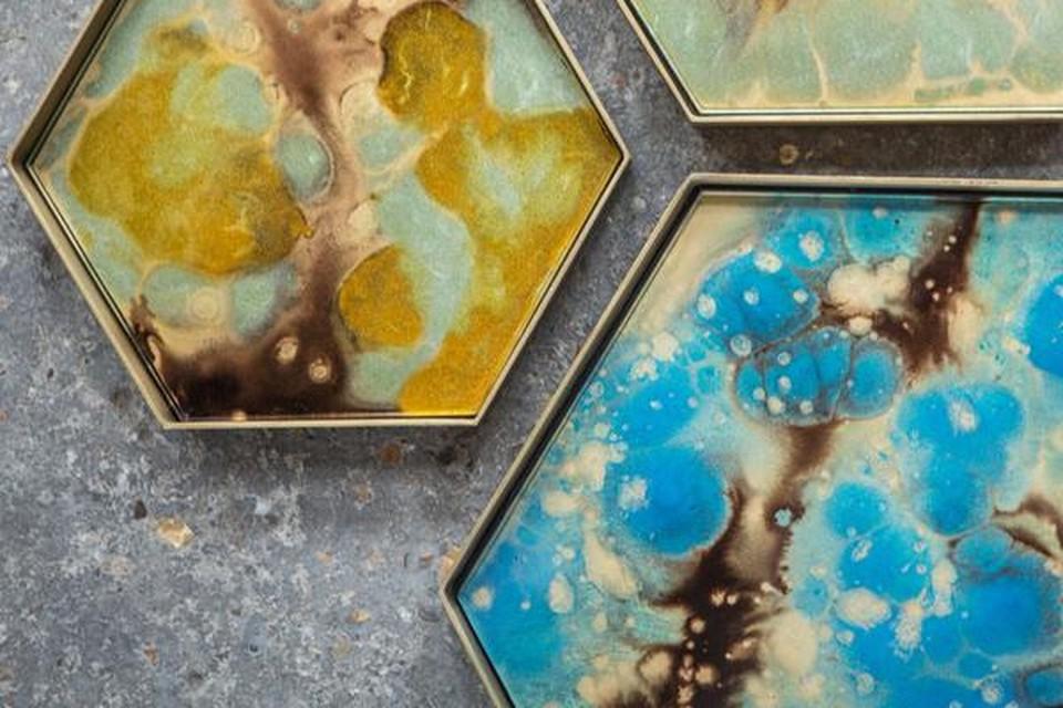 Glazen tray - Ethnicraft - vanaf 33 eruo