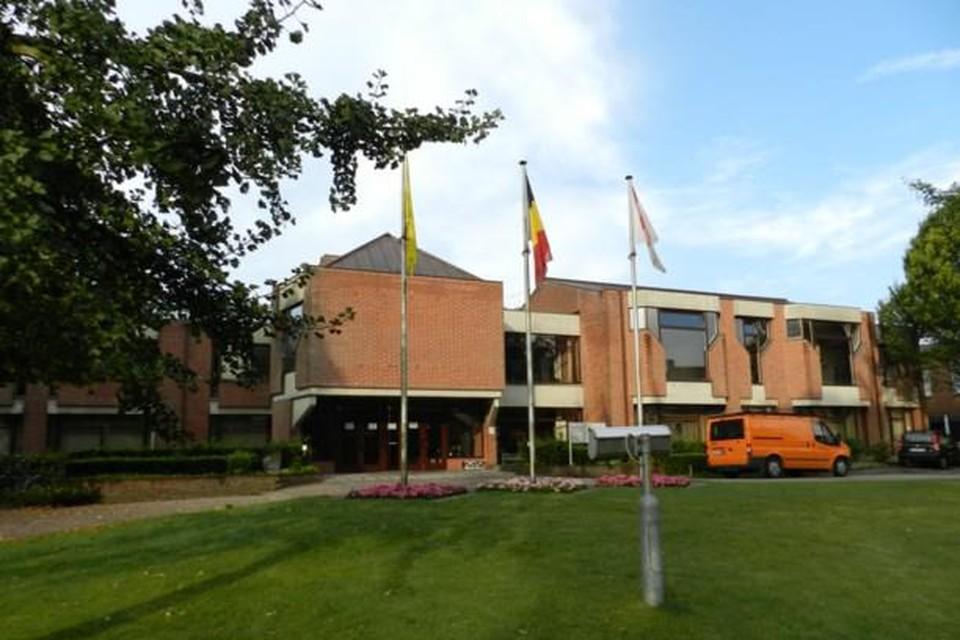 Het gemeentehuis in Rijkevorsel.