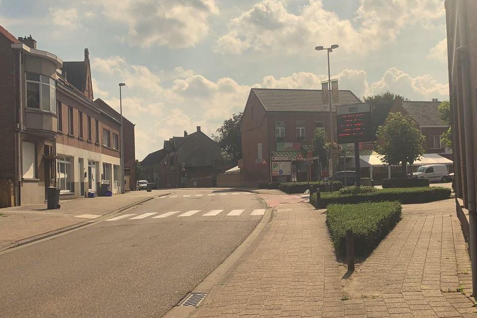 Enkele dagen wordt er verkeershinder in het centrum van Olmen verwacht.
