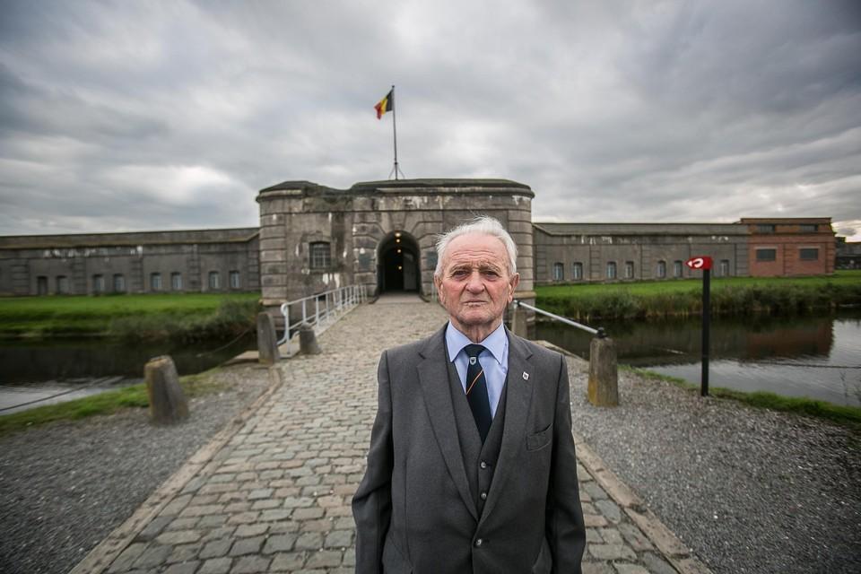 Louis Boeckmans overleefde drie concentratiekampen, waaronder dat  van Fort Breendonk.
