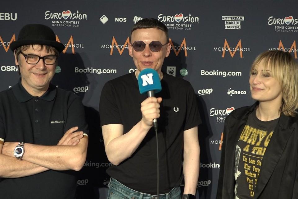 Raymond Geerts, Alex Callier en Geike Arnaert.