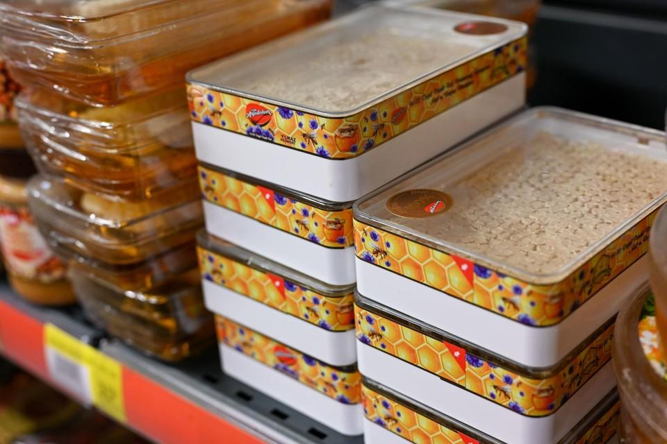 Honingraten in de Turkse supermarkt Say-Pa.
