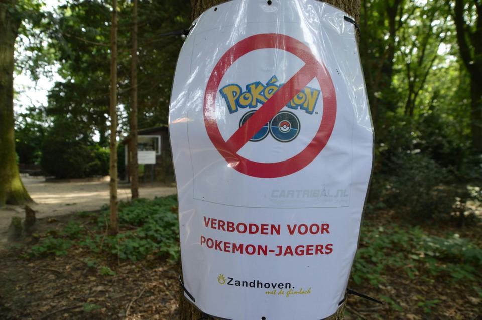 De gemeente Zandhoven vaardigde onlangs een verbod uit op Pokéjacht.