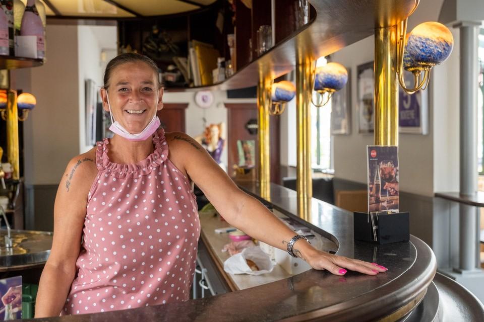 Chantal Claeys in supporterscafé Change